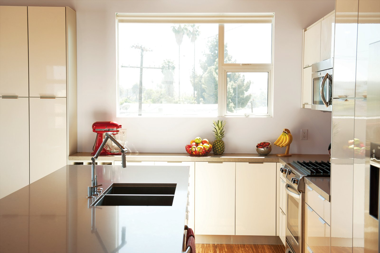 In the kitchen, she splurged on a Karbon faucet from Kohler.  Photo 3 of 13 in 131-Day House