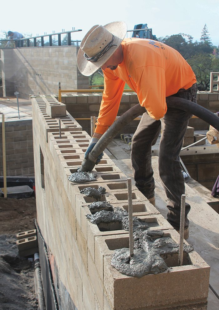 Photo 2 of 10 in ingenious new building method replaces for Cinder block home construction