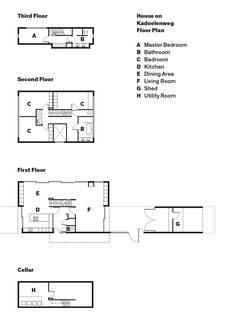 A Modern Take on the Pitched-Roof - Photo 12 of 12 - House on Kadoelenweg Floor Plan