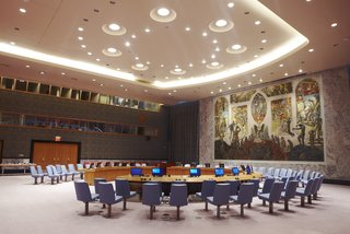 A Look Inside the United Nations' Restored Security Council Chamber - Photo 6 of 7 -