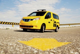 Finding the Perfect Yellow Shade for NYC Taxi Cabs - Photo 1 of 1 -