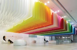French Architect Brings Brilliant Color to Tokyo - Photo 2 of 10 -