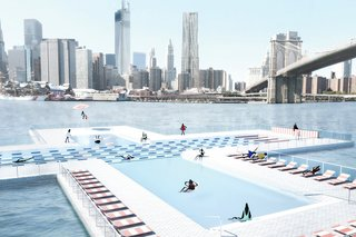 This Floating Pool for the East River Is Closer to Reality Than You Think - Photo 1 of 6 -