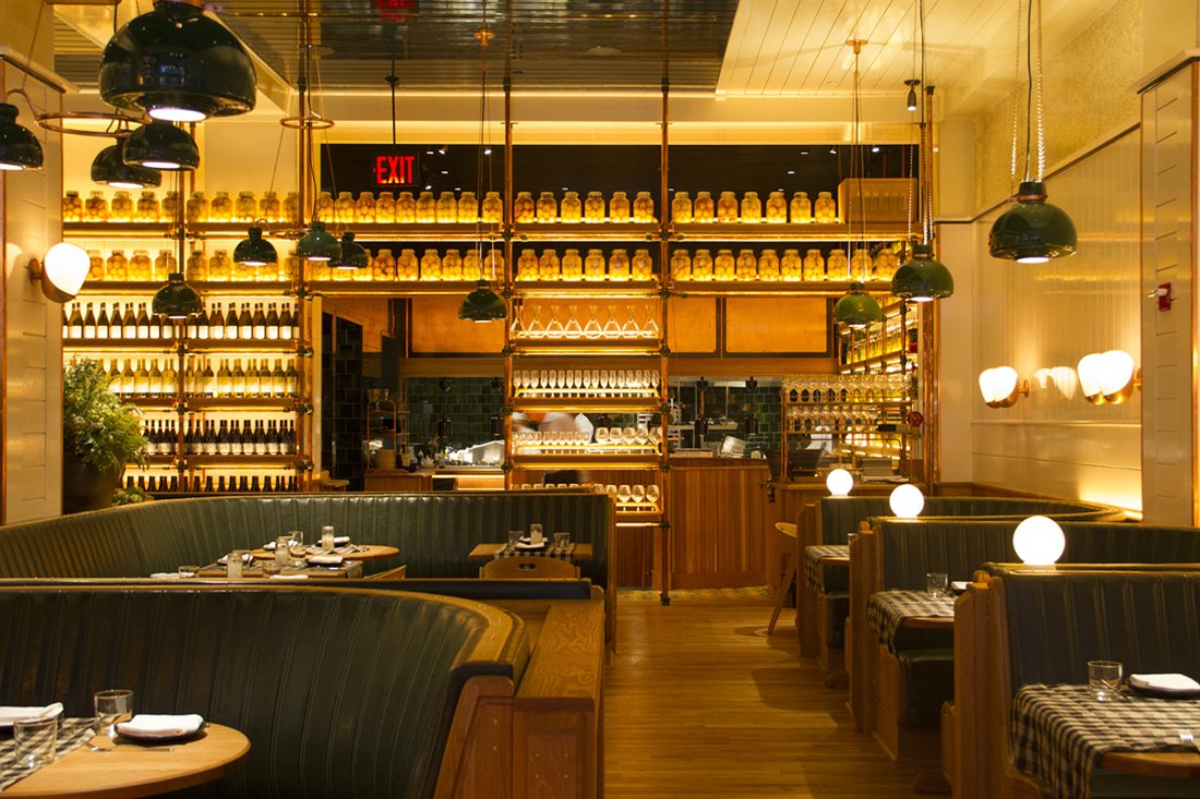 Restaurant Interior Nyc : Roman and williams bring the badlands to new york city