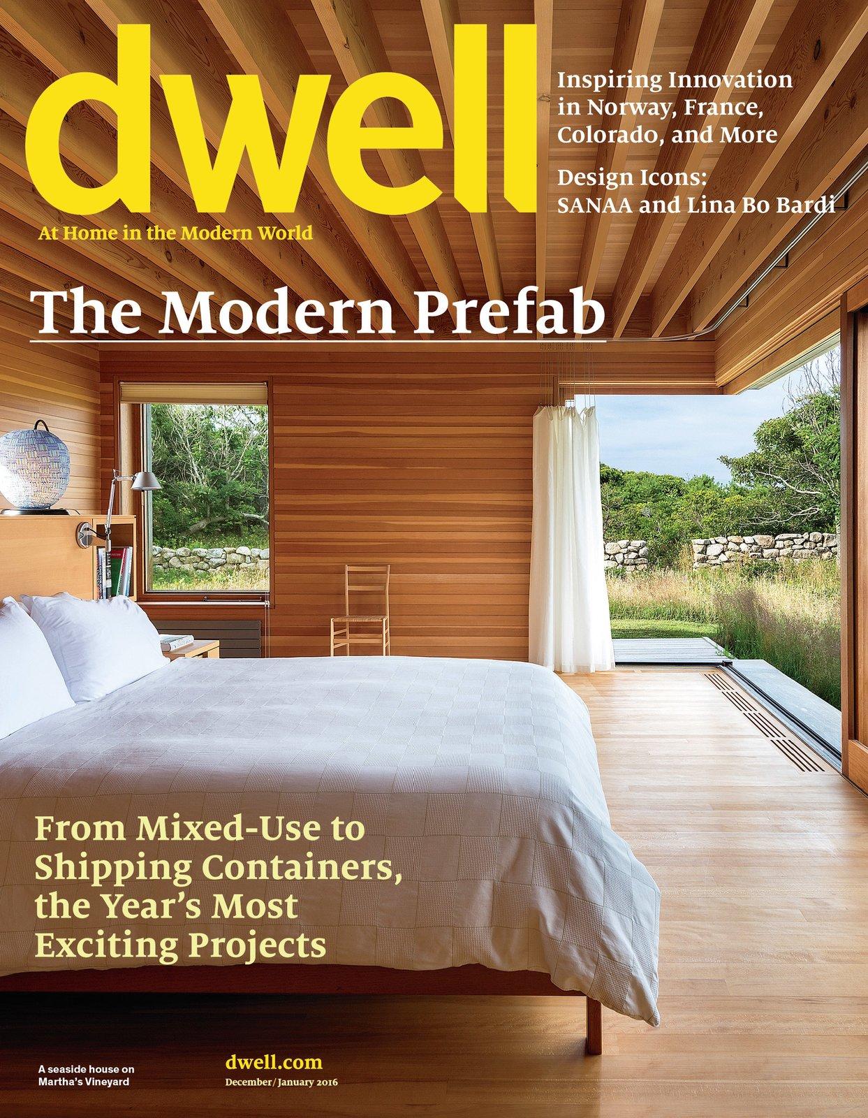 Dwell December/January 2016, Vol. 16 Issue 01: The Modern Prefab by Dwell
