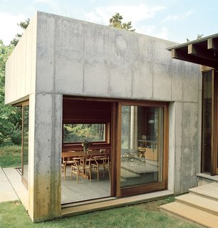 Six Concrete Boxes Make a Jaw-Dropping Martha's Vineyard Home - Photo 3 of 11 -