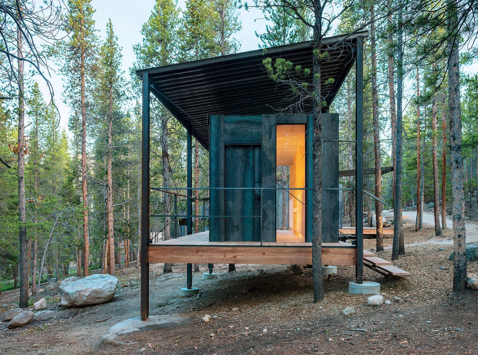 Photo 64 Of 101 In 101 Best Modern Cabins From Tiny Prefab