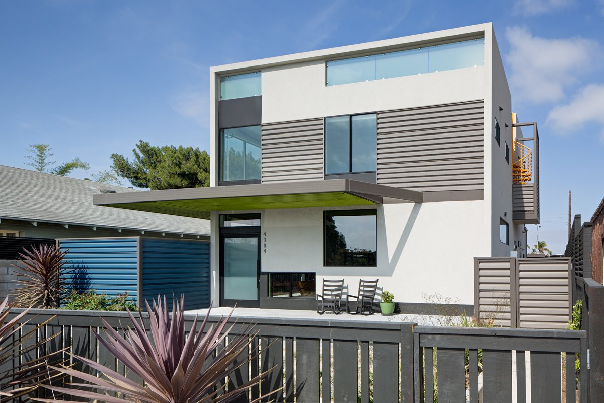 a dull stucco home becomes a modern california oasis - dwell