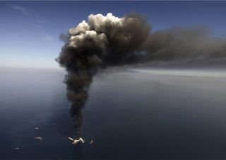 "On the Gulf Oil Spill: ""…Satan was vomiting crude oil into the ocean,"" yet even that wasn't a big enough crisis to get the public's attention to inspire change. Answering one attendee, Joachim considered the notion that ultimately, it may take financial crisis to motivate change. ""We'll need one that hits our pocketbooks.""<br><br>In response, Dameron asked: ""Does technological innovation happen only under duress?""<br><br>Joachim: ""Not at all. One example is cell phones replacing land lines. Innovation happens when there's a need for a better product, one that works better, looks better and feels better."""