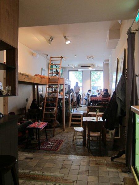 Ra, a concept shop in Antwerp, Belgium, is part cafe, part gallery, part fashion retailer.