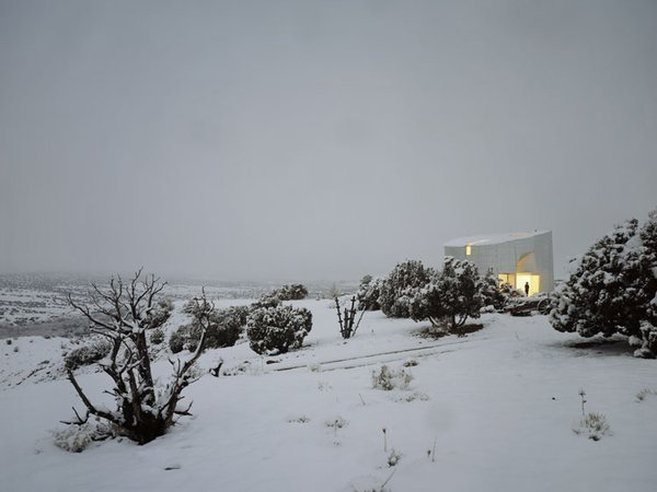 This picture of the Turbulence House by Steven Holl Architects was posted on DAILYAROS.