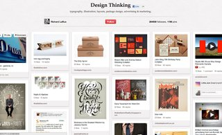 Top Design Boards on Pinterest - Photo 3 of 6 - Richard LaRue's Design Thinking board has 1,194 pins covering a large assortment of graphic design projects.