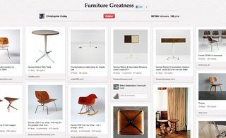 Top Design Boards on Pinterest - Photo 5 of 6 - Christopher Culley's Design Furniture Greatness has 169 pins, including shots of furniture from his shop.