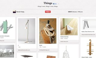 "Top Design Boards on Pinterest - Photo 6 of 6 - Bonnie Tsang's Things board has 1,117 pins of things she ""needs and wants."""