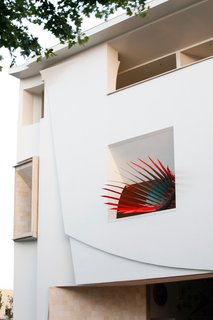 Layer's Loose Horizon installation at the Pasadena Museum of California Art. Photo by Art Gray.