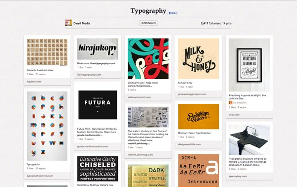 Typography is an oft-forgotten but effective tool in facilitating creativity and inspiration. Whether the purpose is to enhance a written message with the right font or be used as a message itself, typography has a firm place in modern design. See more typography by clicking here.