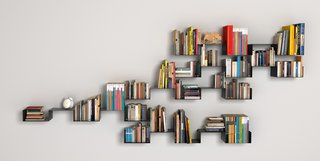 The Moni-K wall shelves (110€ per unit) by Objects.