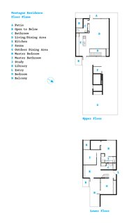 Party-Friendly Apartment in Toronto - Photo 15 of 15 - The floor plan.