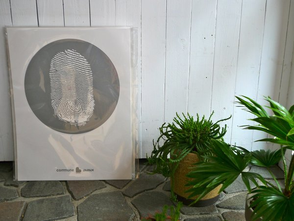 The poster outside of the pop up in Tokyo, Japan. Photo courtesy Commune Design.