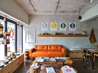 Play Mountain, the pop up shop with which Commune is working, is next door to Tas Cafe. Photo courtesy Commune design.