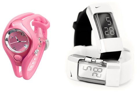 Nike watches redesigned by Femme Den.