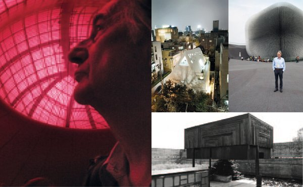 British style icon Paul Smith photographed with a few of his favorite buildings in the new book, Paul Smith A to Z.
