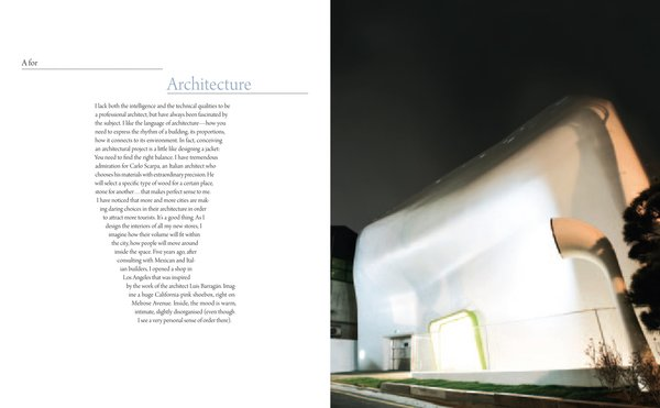 Paul Smith's thoughts on architecture.
