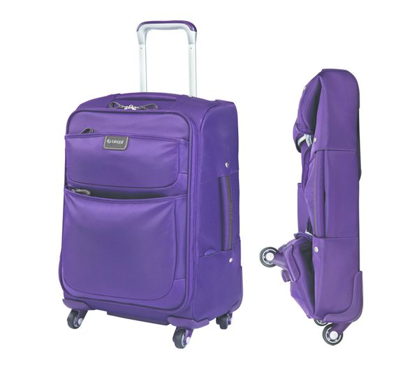 "Shown here is the 20"" carry-on size from Biaggi's Contempo collection."