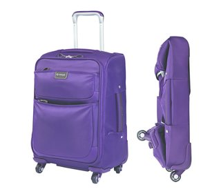 "Contempo Luggage by Biaggi - Photo 2 of 2 - Shown here is the 20"" carry-on size from Biaggi's Contempo collection."