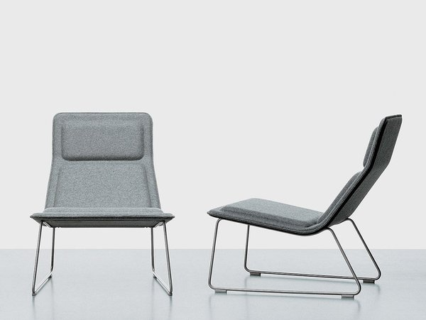 Alexandra Lange: Or Morrison's Low Pad chair, which is part of the larger post-Eames constellation [