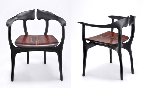 Erika Heet: I'd like to mention the emerging return of the modern studio craft movement, defined by such designs as Brian Fireman's Swallowtail chair.