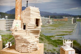 "The Japanese pavilion curated by Toyo Ito launches a program to provide a ""Home for All"" to people who lost their homes in Japan's March 2011 tsunami. The exhibition presents the process models by three young Japanese architects: Kumiko Inui, Sou Fujimoto, and Akihisa Hirata."