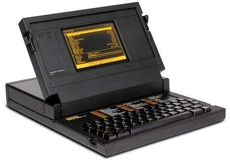 The Grid Compass, the first laptop, was designed by Moggridge in 1979, and came onto the market three years later. The computer featured a die-cast clamshell case of magnesium alloy, an Intel 8086 processor, a 320 × 240-pixel electroluminescent display, 340-kilobyte magnetic bubble memory, and a 1,200 bit/s modem.