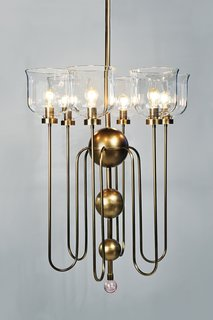 Urban Electric Company owner Dave Dawson learned that handcrafted isn't everything when he got feedback from clients who love the company's lighting fixtures, like Steven Gambrel's Suffolk chandelier, but not the wait.