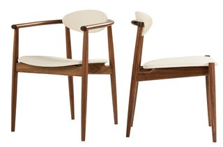 Thomas Moser (whose Ellipse <br><br>Dining Chair is shown here) cites the sense of pride that comes with knowing he's created worthwhile employment for a community. He recently hosted a dinner for employees who'd been with the company for at least <br><br>20 years—43 people showed up.