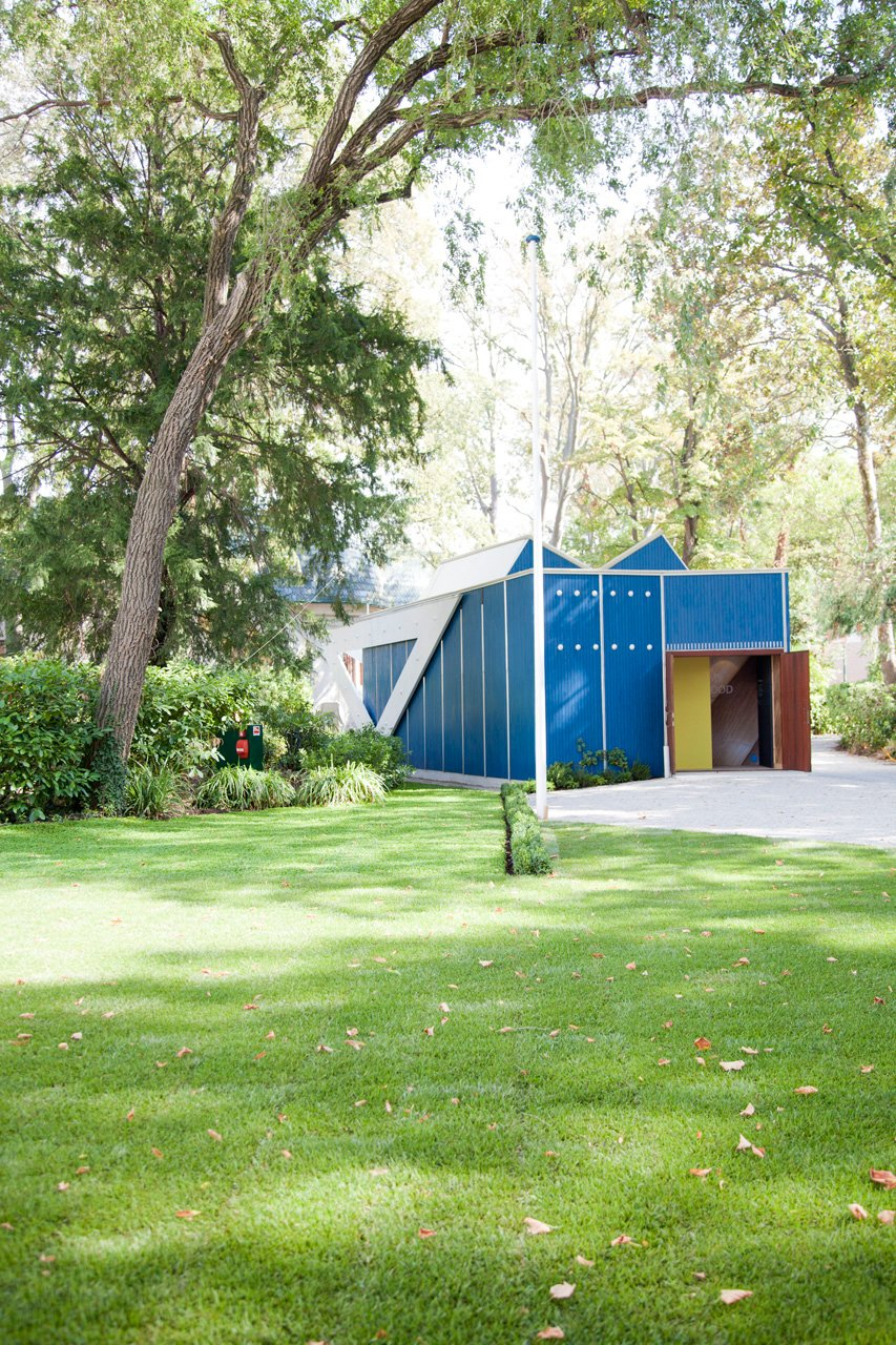 The ten-week-long renovation wrapped up just before the Biennale's opening on August 29. Aalto's hand is still very much present in the restored building. Photo by Patricia Parinejad.  Midcentury Homes by Dwell from Refinishing Alvar Aalto's Finnish Pavilion