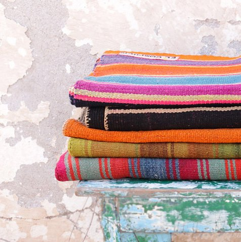 Blankets from Bolivia, as seen on ecprovisionco.com.