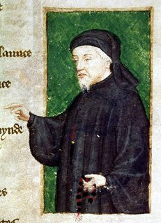 Find hilarious tweets written in the style of Chaucer at @LeVostreGC.