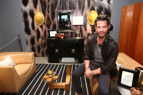 The 70s, curated by designer Nate Berkus. Berkus pulled together vintage pieces from 1st Dibs, wallpaper from Flavor Paper, and his own collection of accessories available at Target.
