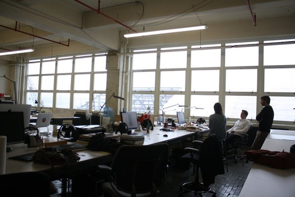 Todd Bracher is an industrial designer that not only creates phenomenal products but also seeks to solve problems through functional design for his clients (which include 3M). An old advisor of his from Pratt set him up with this space in the Brooklyn Navy Yard in 2007.