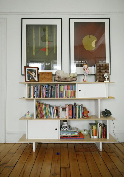 """""""This is the  Mini-Library in Baltic birch, it's really practical and the scale is good for kids.""""  -Sophie Demenge"""