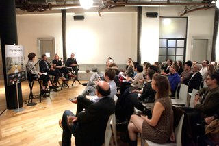 Brooklyn Design at City Modern - Photo 4 of 5 - Audience members asked questions about the rapidly changing neighborhood of Williamsburg, the nature of Brooklyn design, and the effect of Brooklyn outside the city itself.