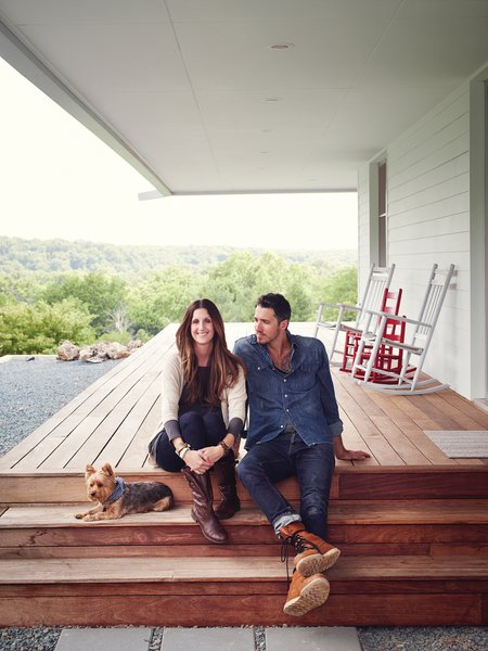 Thanks to Matthew Hufft, their envelope-pushing architect and longtime friend, Hannah and Paul Catlett have a new home in southwestern Missouri that's a fresh, unconventional take on the traditional farmhouse.