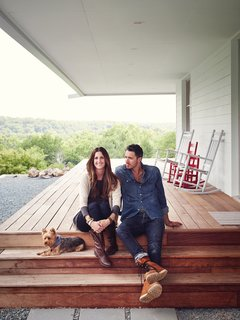 A Modern Farmhouse Recalls Old-Time Americana - Photo 4 of 10 - Thanks to Matthew Hufft, their envelope-pushing architect and longtime friend, Hannah and Paul Catlett have a new home in southwestern Missouri that's a fresh, unconventional take on the traditional farmhouse.