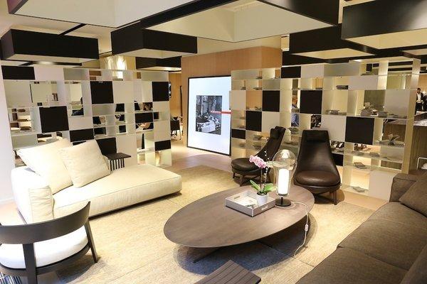 The Flexform showroom.