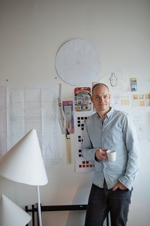Scandinavian Design Focus: Muuto - Photo 3 of 9 - At his Copenhagen studio, Bentzen creates designs and prototypes for Muuto and other companies, including HAY, Royal Copenhagen, and Normann Copenhagen.