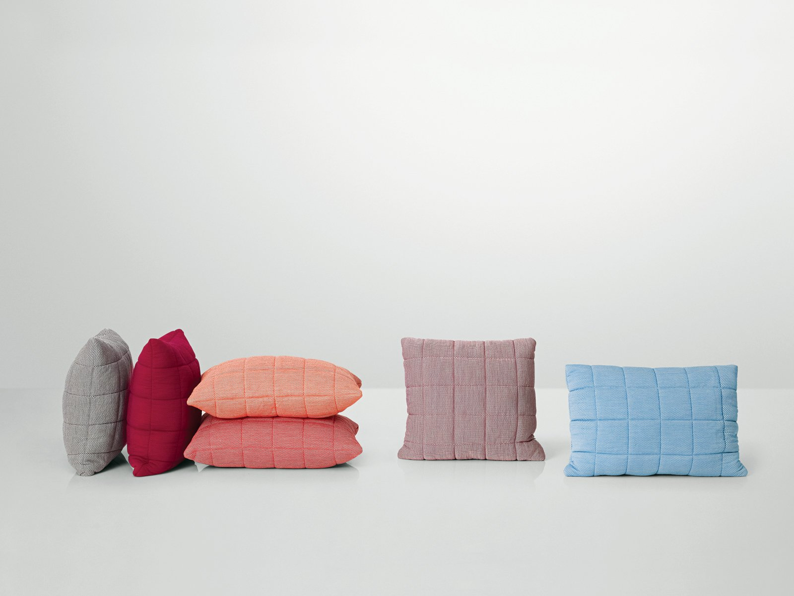 Soft Grid Cushions by Anderssen & Voll, $109  Photo 7 of 9 in Scandinavian Design Focus: Muuto