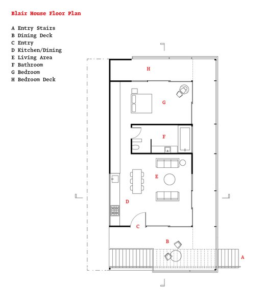 The floor plan.