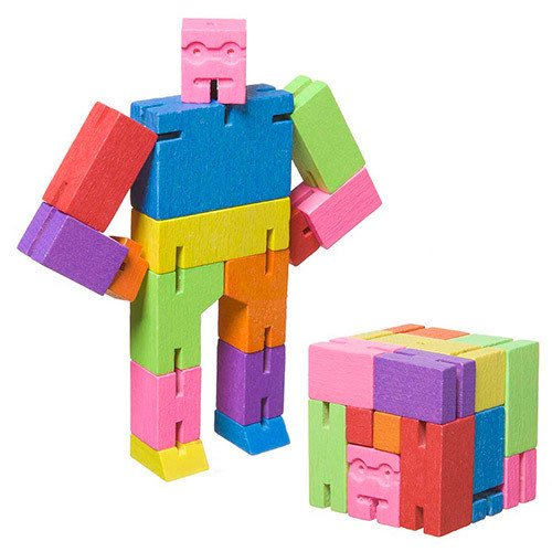 Micro Cubebot is available from Areaware for $7.90.