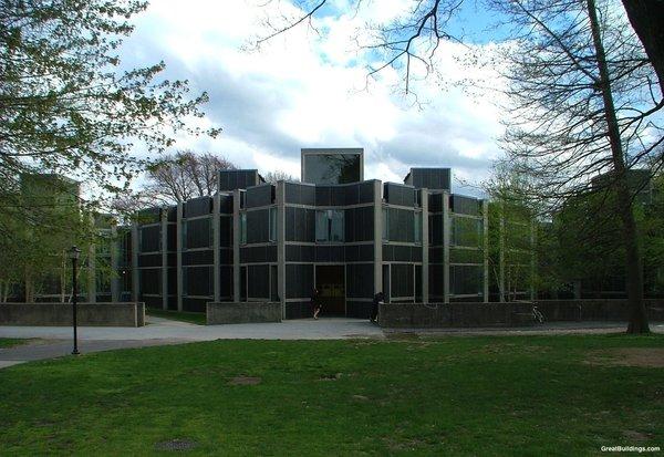 Louis Kahn's Erdman Dormitory at Bryn Mawr College.